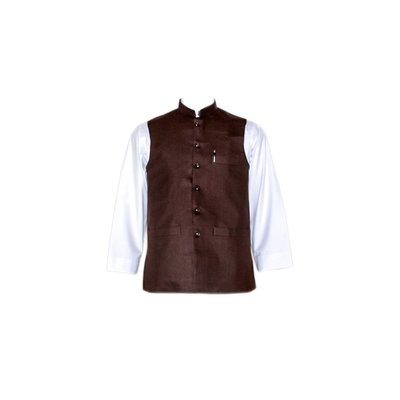Vest - Dark Brown