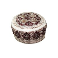 Balouchi cap with embroidery / Gr. S (52)