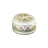 Omani Mütze mit Stickerei / Gr. S(52)