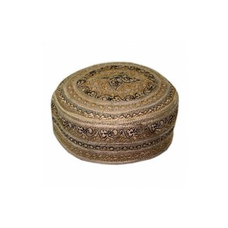 Panjabi cap with embroidery / Size M(54)