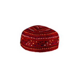 Sindhi cap with embroidery