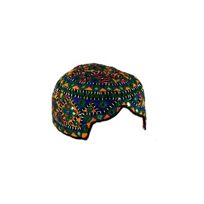 Colorful Sindhi cap with embroidery