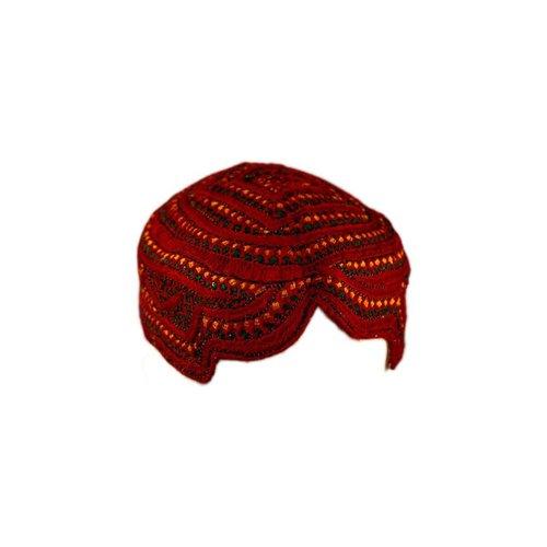 Sindhi Mütze mit Stickerei