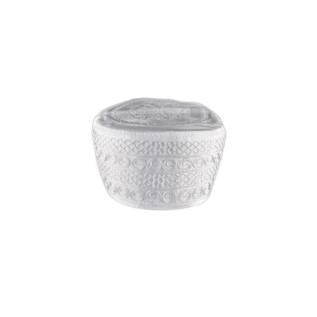 Lightweight cap prayer cap in white