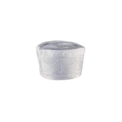 Lightweight cap prayer cap in white / Size M
