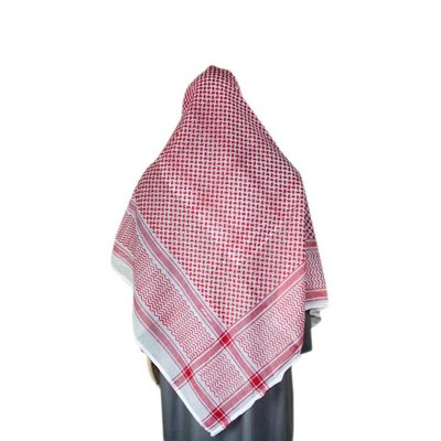 Large Scarf - Shemagh 132cm x 140cm