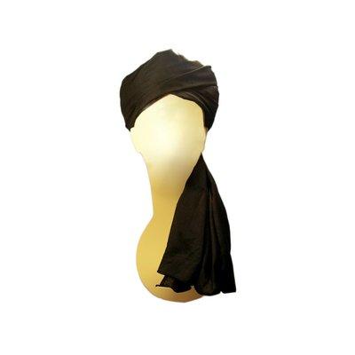 Turban cloth in black