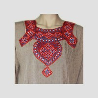 Salwar Kameez Ladies - Mirror Design Grey