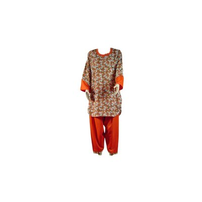 Salwar Kameez Damen - Trendy Bouquet