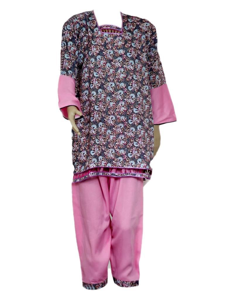 Indischer salwar kameez in orientalischem design pink for Indischer laden berlin