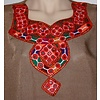 Jabador, takem for women - Brown Sindhi Style