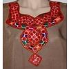 Jabador, takem for women - Brown Sindhi Style