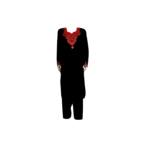 Jabador, takem for women - Black Sindhi Style