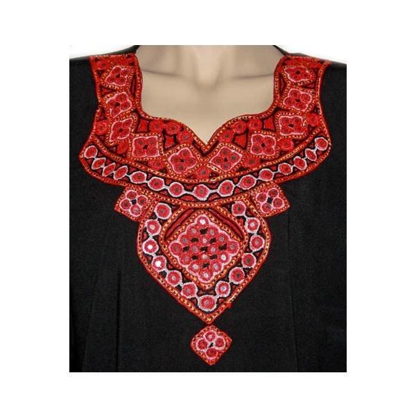 Jabador, Takem für Damen - Schwarz Sindhi Style