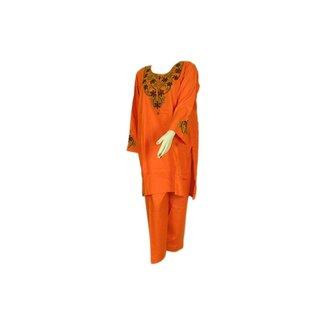 Salwar Kameez - Orange Sweetheart