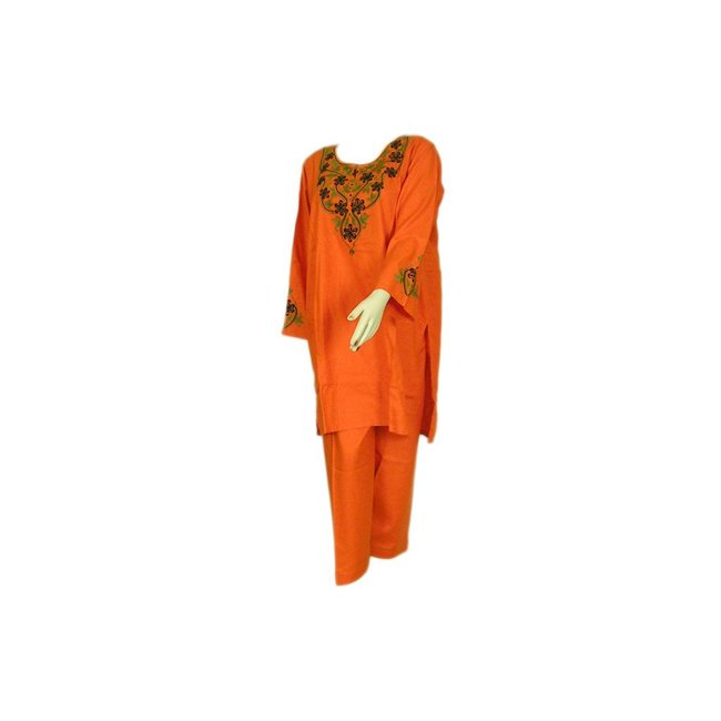 Salwar Kameez - Orange Sweetheart