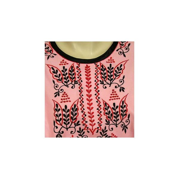 Arabian Jilbab-Dress for Ladies in Pink