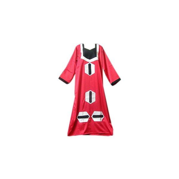 Arabisches Jilbab-Kleid in Pink mit Applikationen
