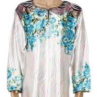 Djellaba Kaftan for Women in Turquoise