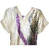 Djellaba Kaftan for Women in Purple - Short Sleeve