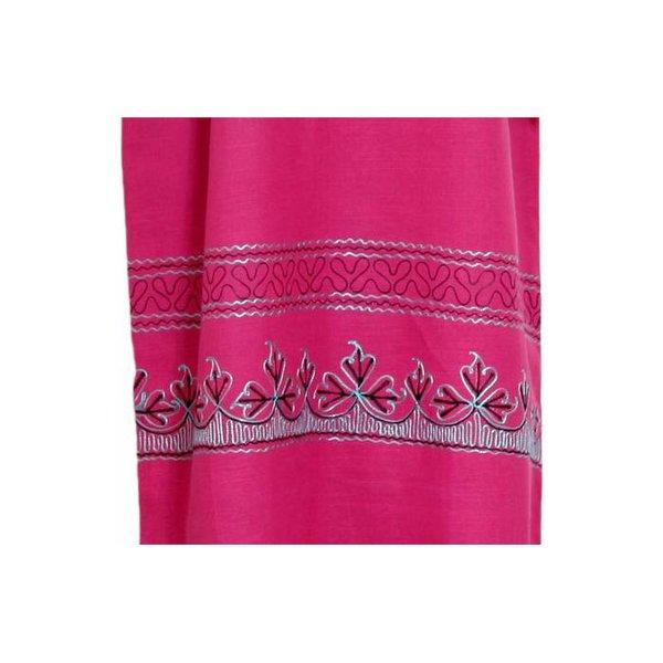 Djellaba Kaftan für Damen in Pink mit Stickerei