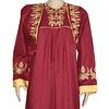 Arab Jilbab Kaftan in Brown with Embroidery