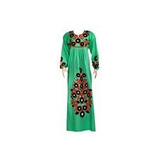 Besticktes arabisches Kleid in Grün
