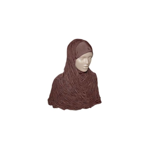 Gathered hijab headscarf - Various colors