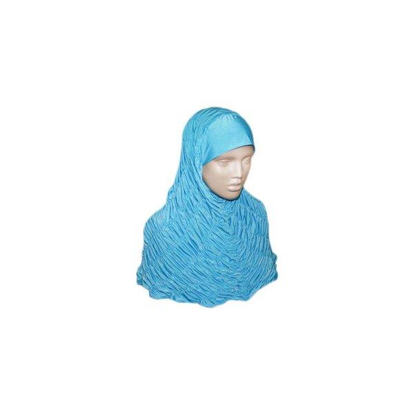 Gerafftes Hijab Kopftuch - Verschiedene Farben