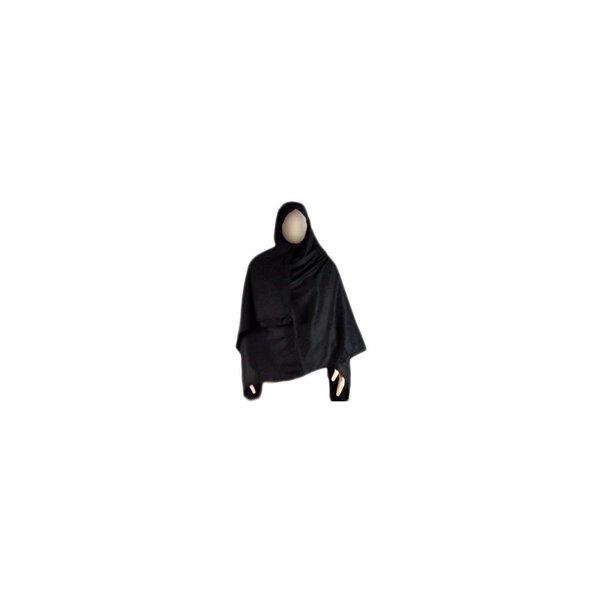 Black, large Shayla scarf