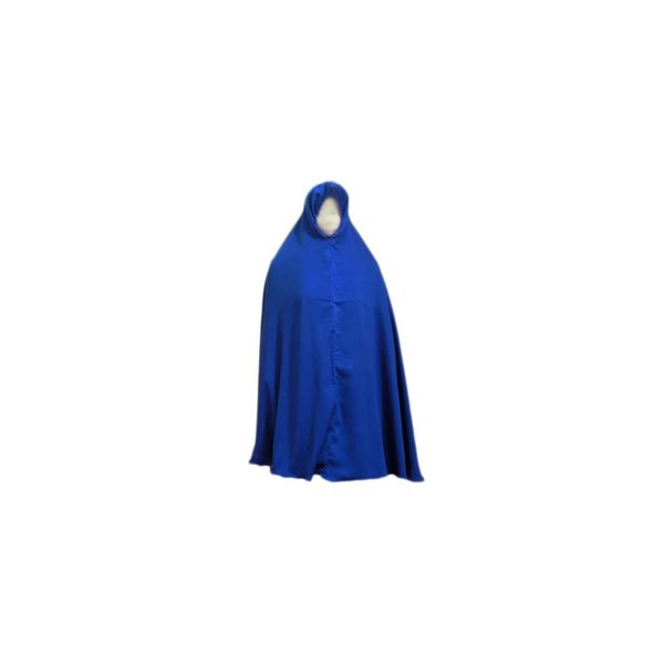 Big khimar hijab in Blue