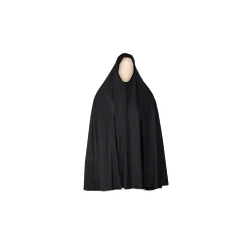 Big Khimar in Black - Stretchy