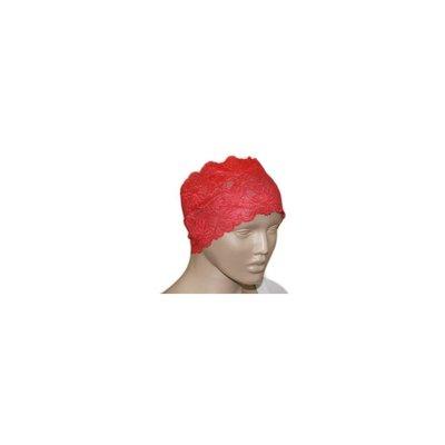 Unterkopftuch Bone aus feiner Spitze in Rot