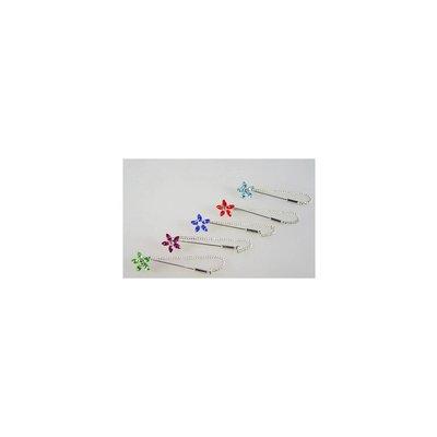Kopftuchnadel mit Blüte, wählbar in verschiedenen Farben