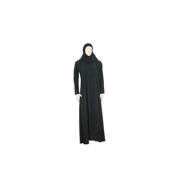 Abaya Coat in Saudi style in black