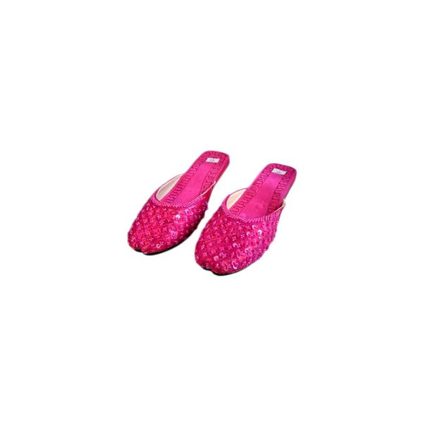 Orient Slip-On shoes with sequins in Pink