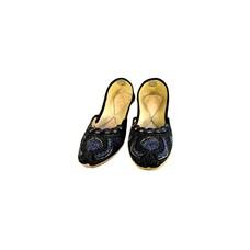 Pailletten Ballerina Schuhe aus Leder - Shirin