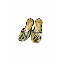 Oriental ballerina shoes made of leather - Laila