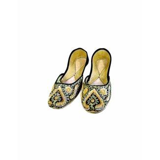 Indische Ballerinas Schuhe aus Leder - Laila
