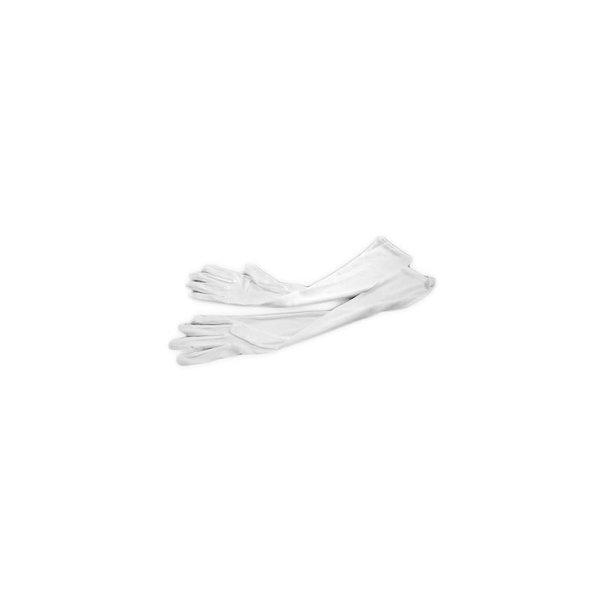 Dünne Handschuhe für Damen in Weiss