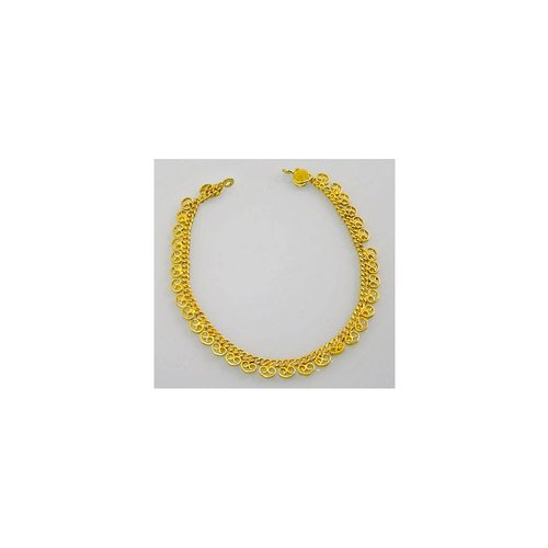 Heart Anklet Gold