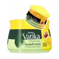 Vatika Dabur Vatika Haarcreme mit Zitrone, Teebaum, Mandel gegen Schuppen Styling - Hair Cream(140ml)
