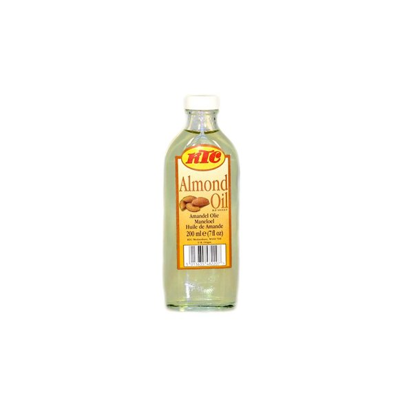 KTC Pure almond oil KTC for skin and hair care 200ml