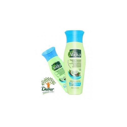 Vatika Dabur Naturals Shampoo - Tropical Coconut (200ml)