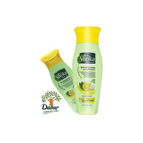 Vatika Dabur Naturals Shampoo - Refreshing Lemon (200ml)