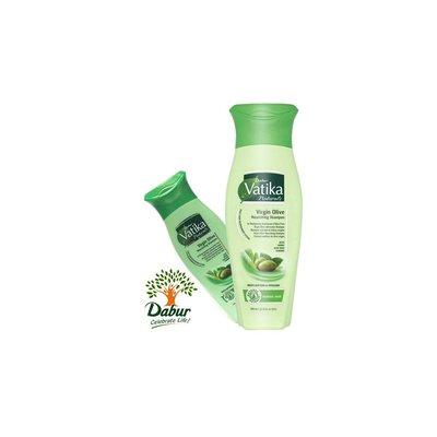 Vatika Dabur Naturals Shampoo - Virgin Olive Shampoo for Normal Hair (200ml)