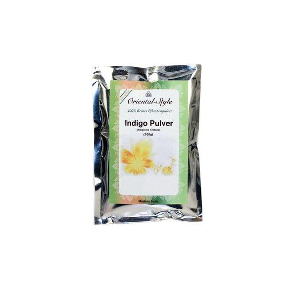 Pure indigo powder for hair colouring (100g)