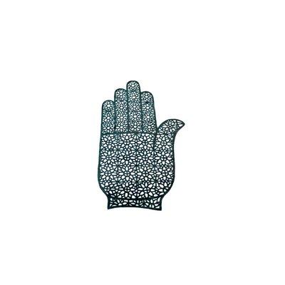 Selbstklebende Hennaschablone - Hand