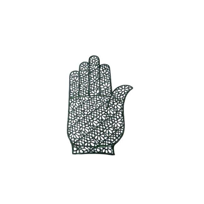 Hennaschablone Hand