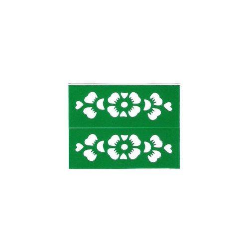Selbstklebende Hennaschablonen (5cm x 2cm)